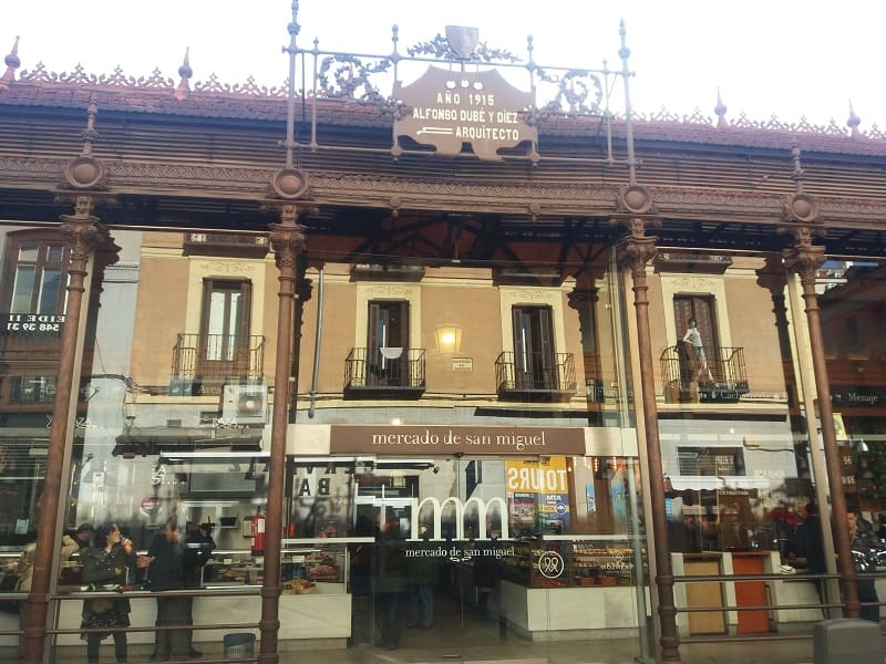 Mercado de San Miguel, em Madri