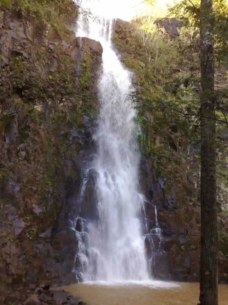 cachoeiras no oeste de santa catarina