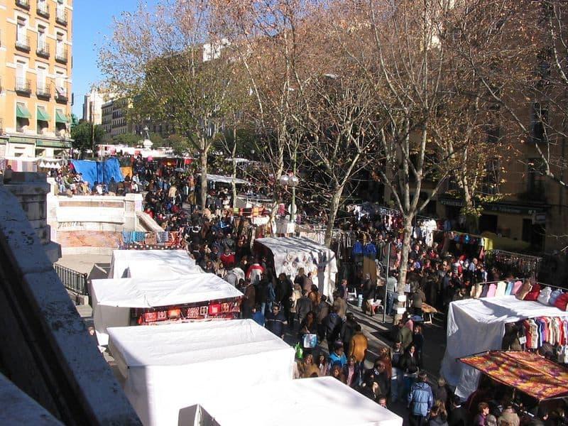 Mercado El Rastro - Madri