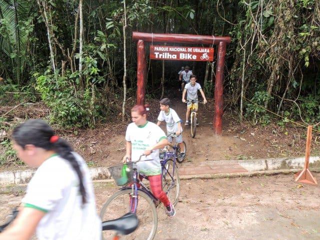 Trilha de Bicicleta no Parque Nacional de Ubajara