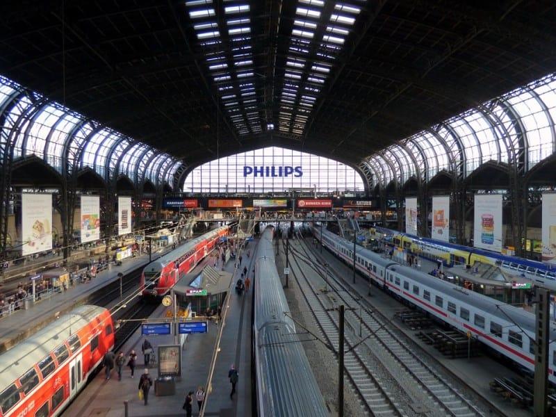 passes de trem na europa