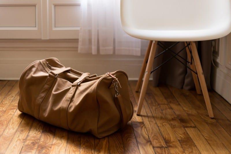 viajar com mala de mão