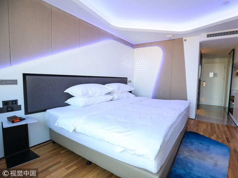 hotel futurista do alibaba