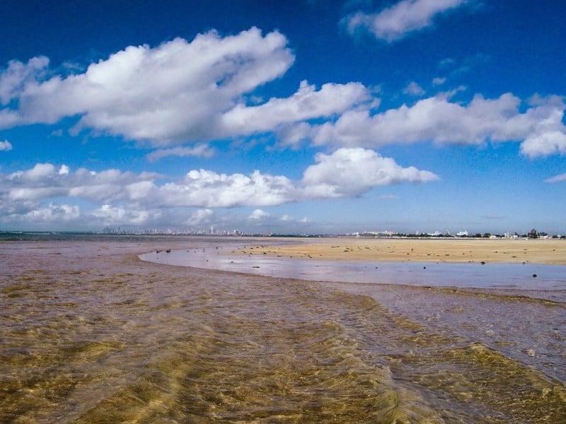 areia vermelha na paraiba