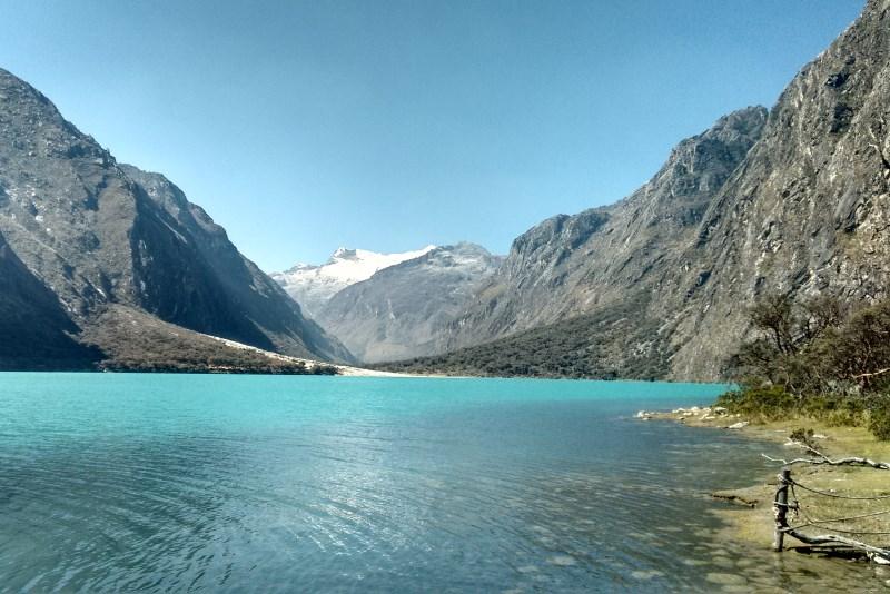 Parque Nacional Huascarán no Peru
