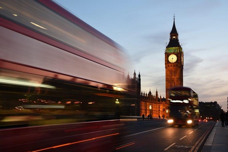 Morar em Londres - Reino Unido