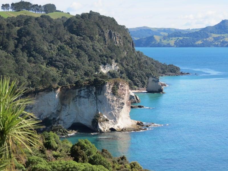 A Península de Coromandel é uma joia da natureza na Ilha Norte da Nova Zelândia
