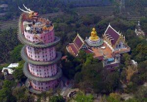 Templo do Dragão é uma das construções mais incríveis e únicas da Tailândia