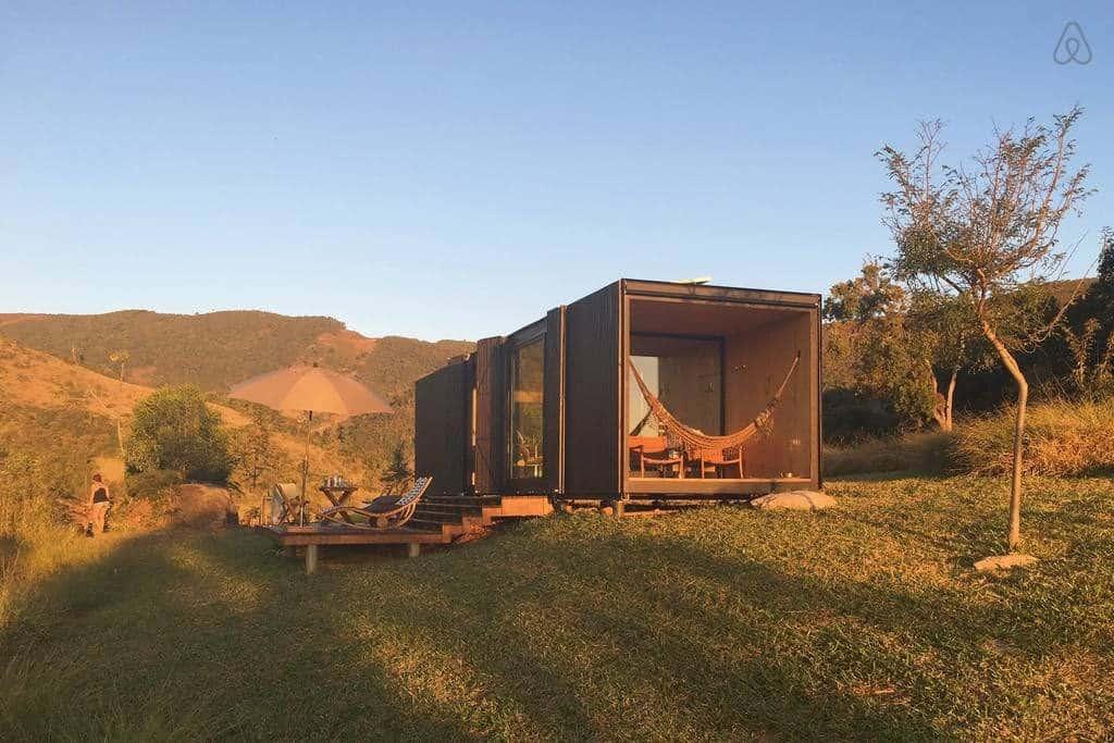 É no Brasil! Hospede-se em uma cabine ecológica perfeita para se conectar com a natureza