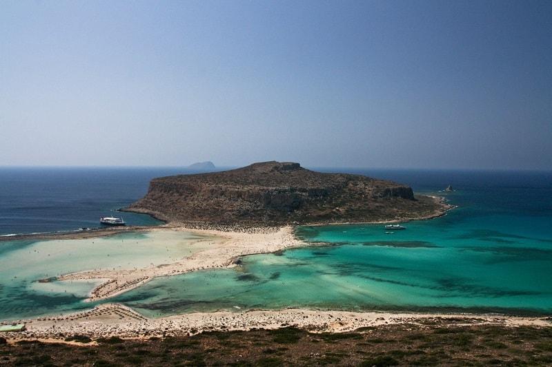 Ilha em Creta