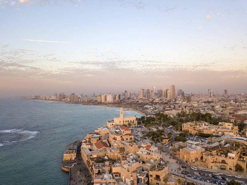 Vista aérea de Tel Aviv