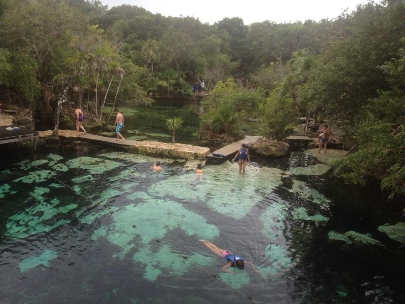 Cenote Azil, em Playa del Carmen