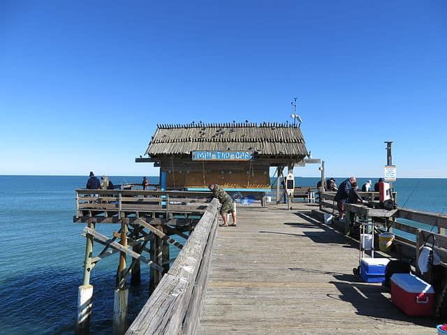 Pier em Cocoa Beach