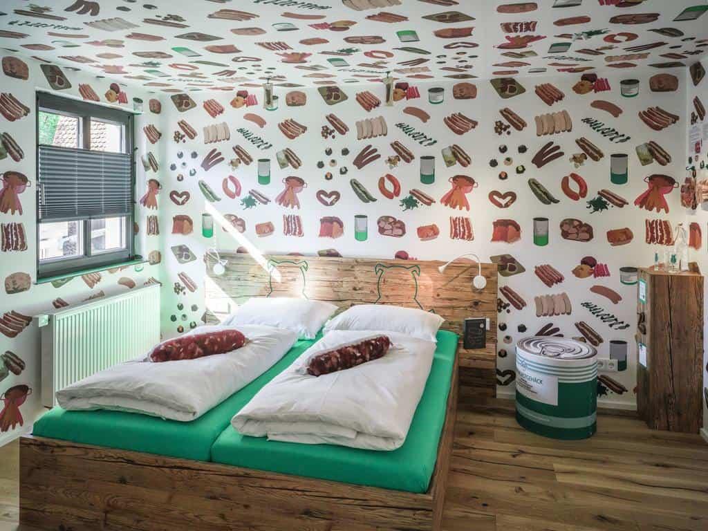 hotel tematico de salsicha