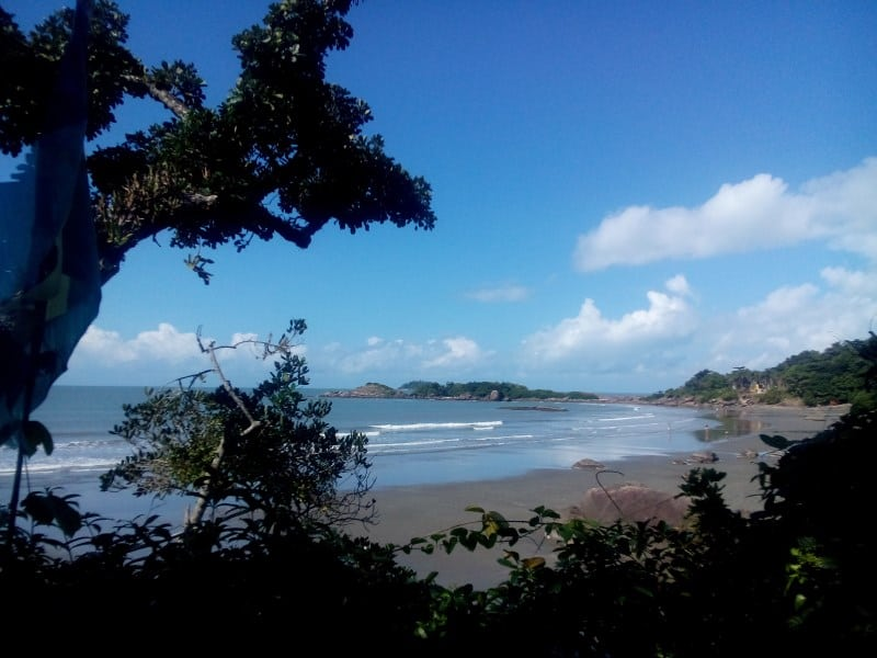 praias em peruibe