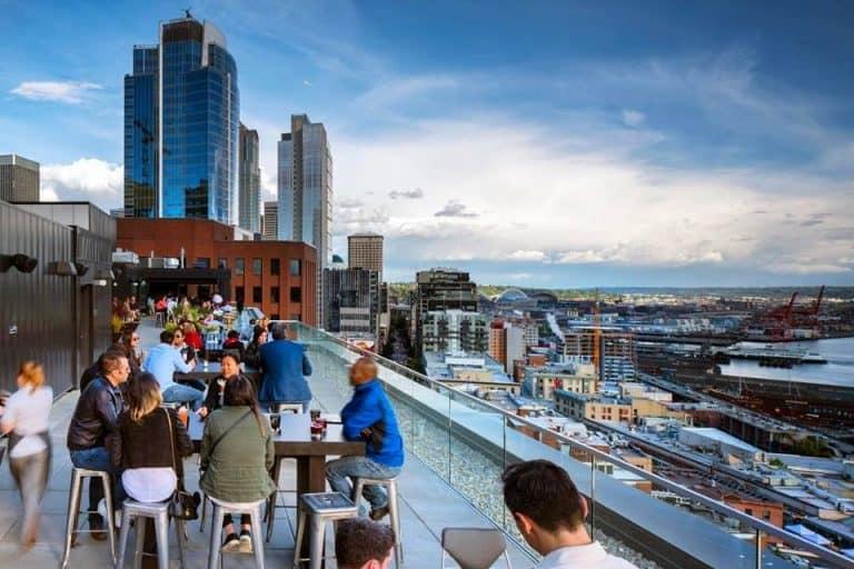 Conheça o The Nest, o mais badalado rooftop em Seattle