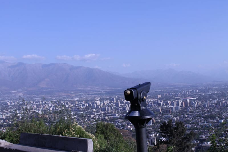 Cerro San Cristóbal e Cerro Santa Lucía: os mirantes com vistas lindas de Santiago