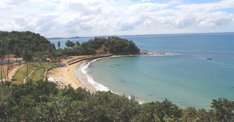 A Ilha dos Frades é um paraíso escondido na Baía de Todos os Santos na Bahia
