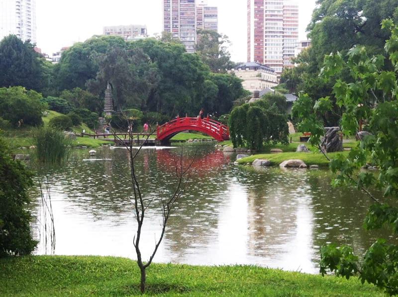 Jardim Japonês de Buenos Aires é um oásis relaxante bem no coração da metrópole