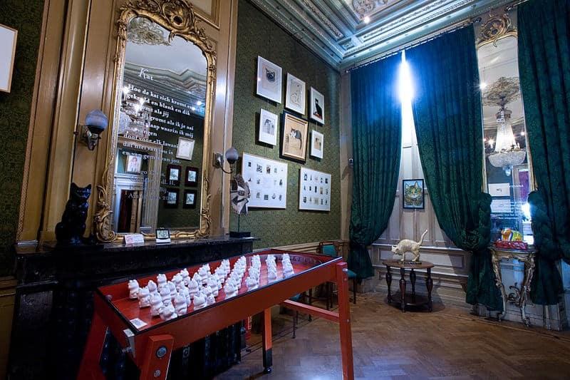 museu dos gatos amsterda