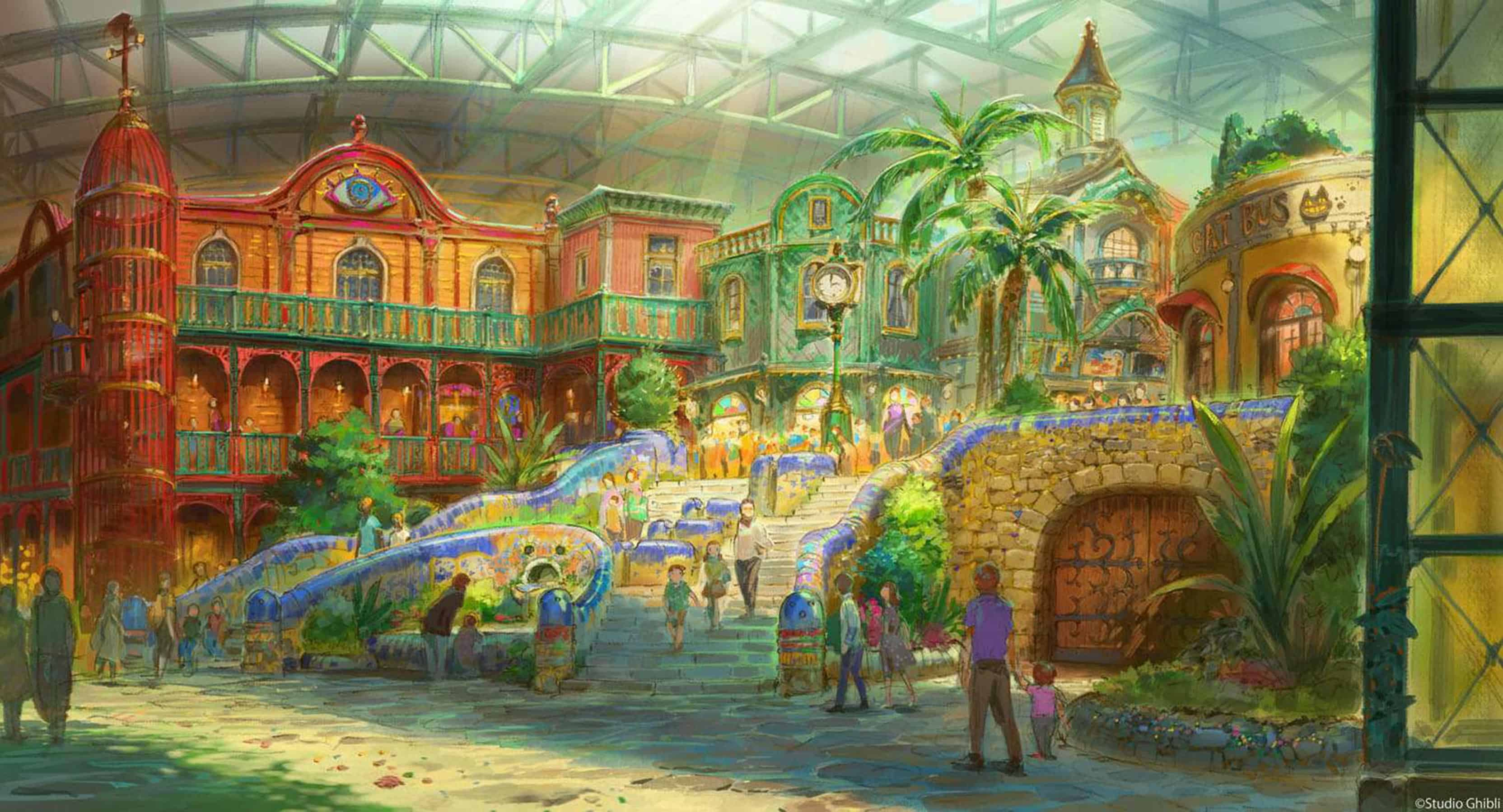 Parque de diversões temático do Studio Ghibli
