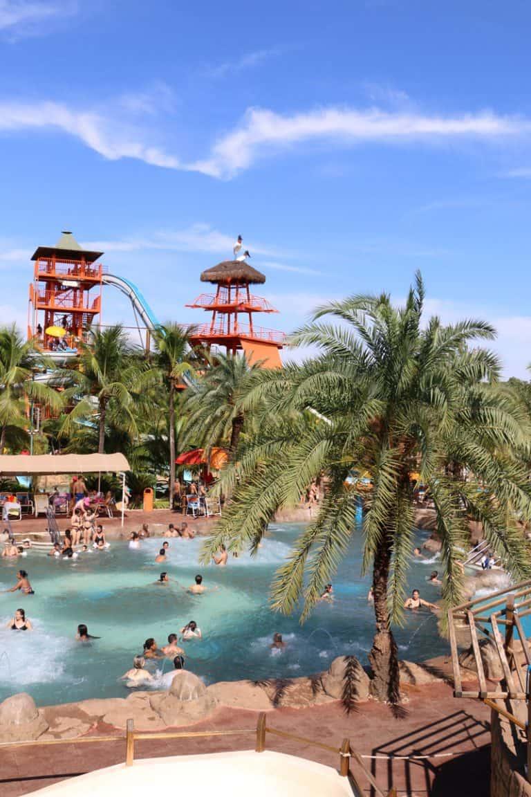 Thermas dos Laranjais é o parque aquático mais visitado da América Latina