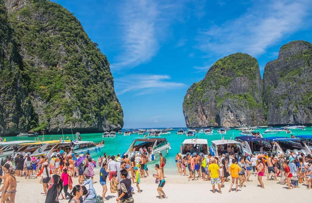 Turismo de massa na Tailândia ameaça o meio ambiente e satura o país