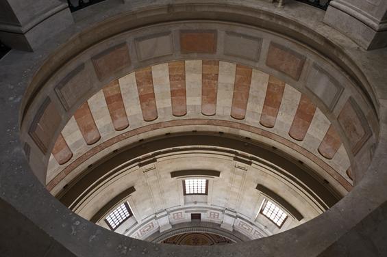 Detalhe da cúpula do Panteão Nacional