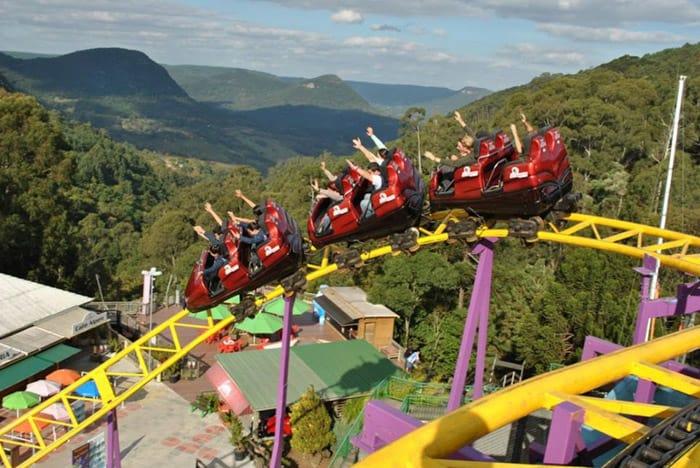 Parque de diversões em Canela anima férias escolares; conheça o Alpen Park