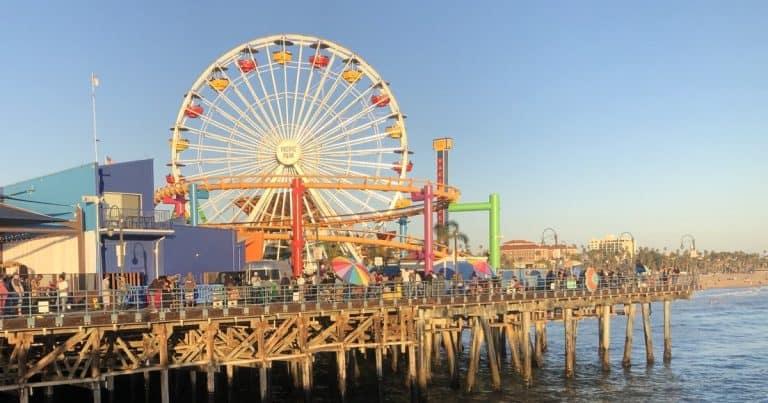 Santa Mônica, cidade mais californiana que ela, impossível!