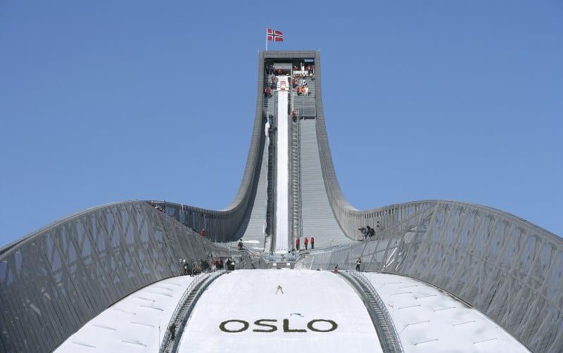 pista de esqui em oslo