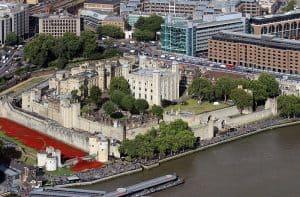Torre de Londres: uma construção com 1.000 anos de história