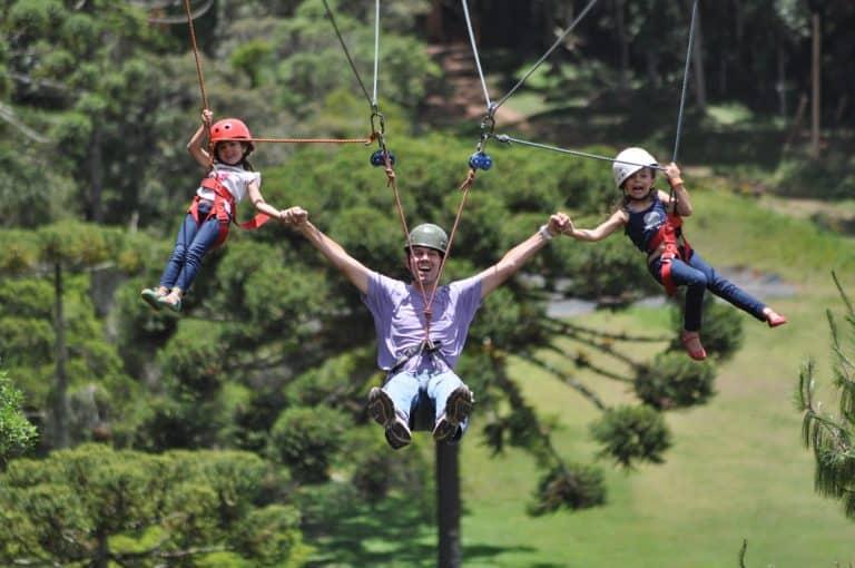 Parque Tarundu em Campos do Jordão tem atividades que garantem um dia inteiro de diversão