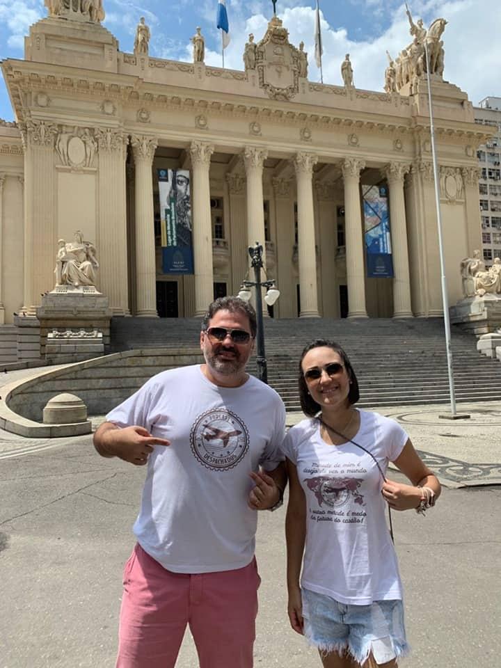 Podcast de viagem: Foca e Anna Karla no encontro Despachados do Rio de Janeiro em Março
