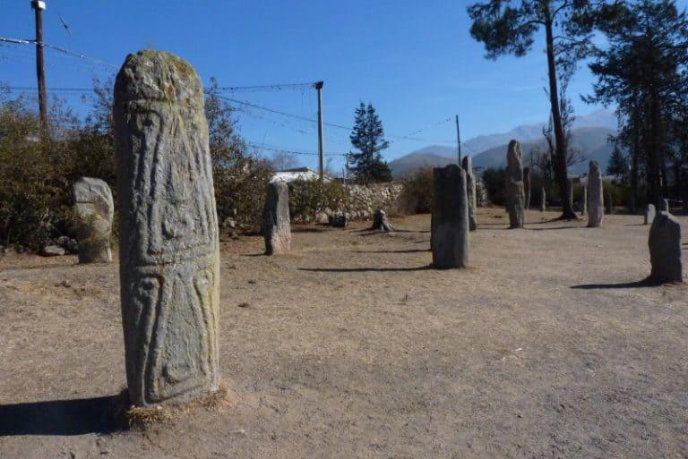 Reserva Arqueológica Los Menhires na Argentina tem esculturas de 820 a.C