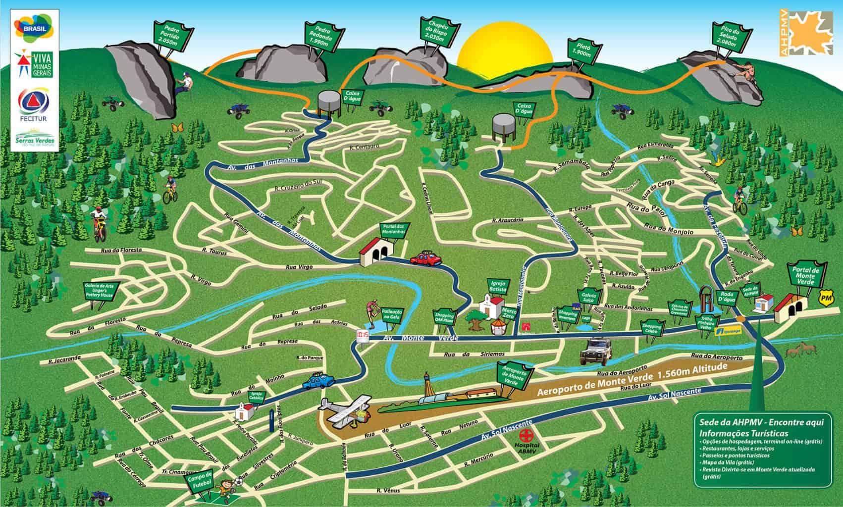 Conheça as principais trilhas de Monte Verde