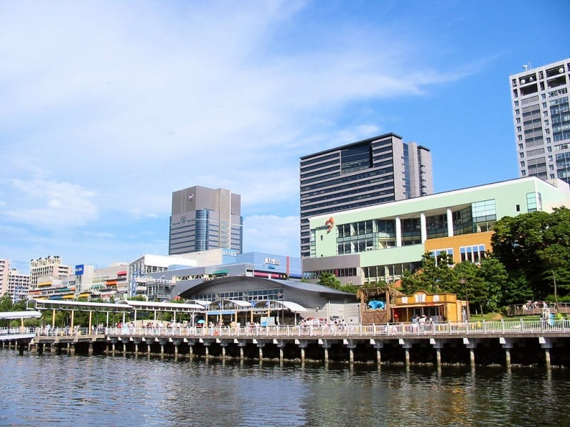 ilha de odaiba