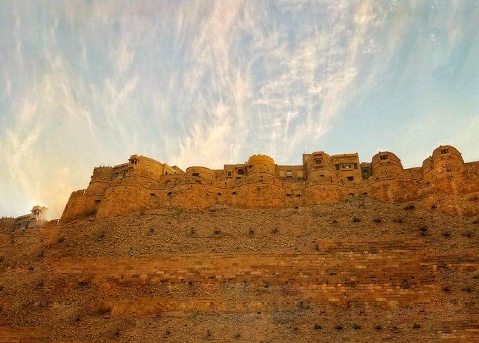 Forte dourado em Jaisalmer, Índia