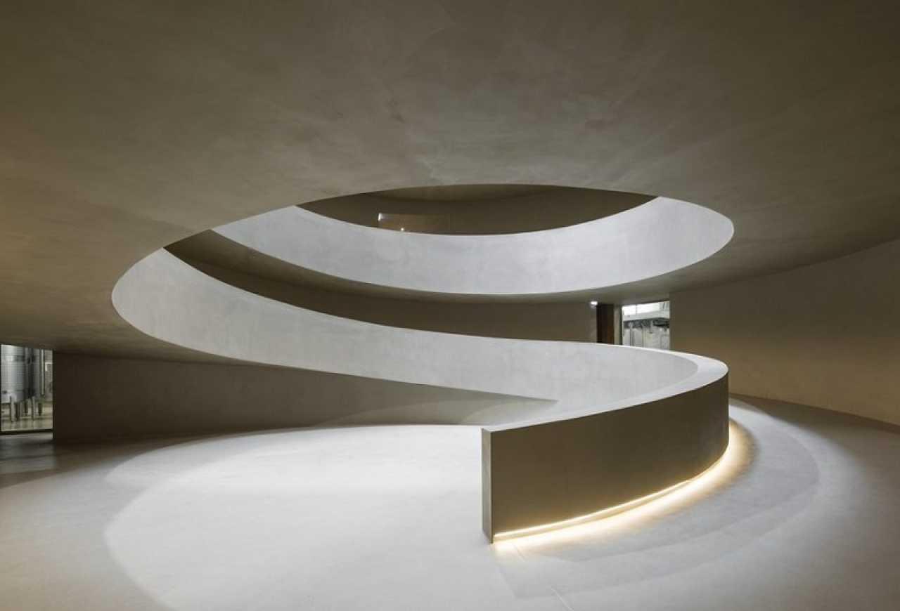 Vinícola em Portugal se destaca pela arquitetura subterrânea e inovadora
