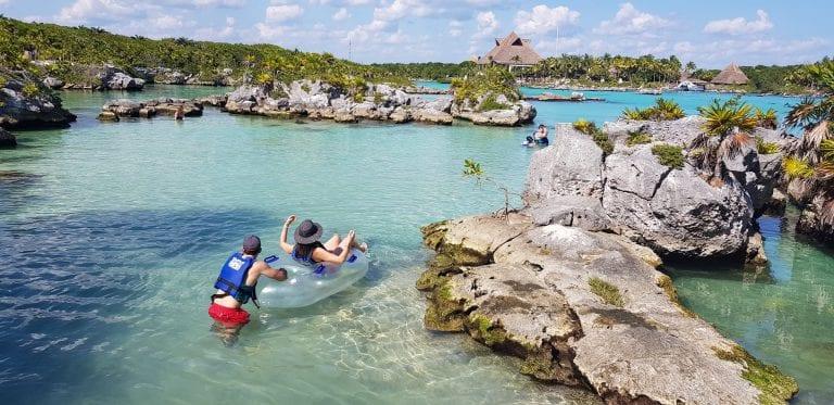 Xel-Ha, no México, é uma das maiores maravilhas naturais do mundo