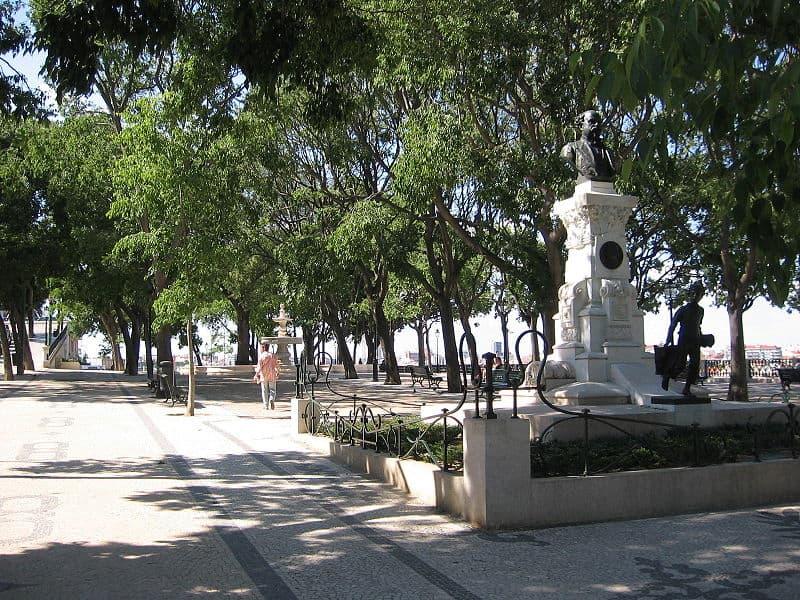 Jardim de São Pedro de Alcântara, em Lisboa. Foto: CorreiaPM