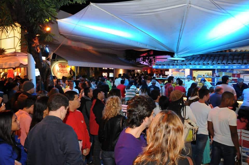 Festa no Chez Michou