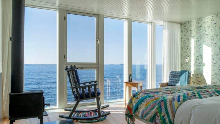 Fogo Island Inn é um dos hotéis mais mágicos e remotos do mundo