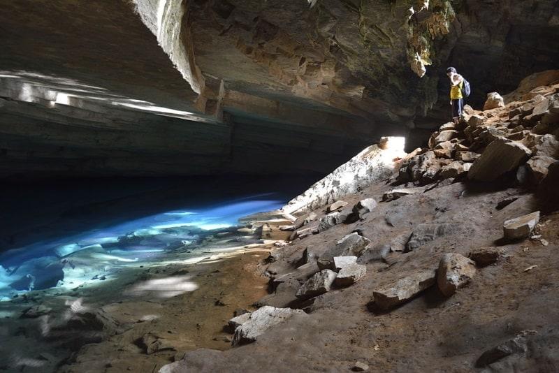 gruta da pratinha e gruta azul