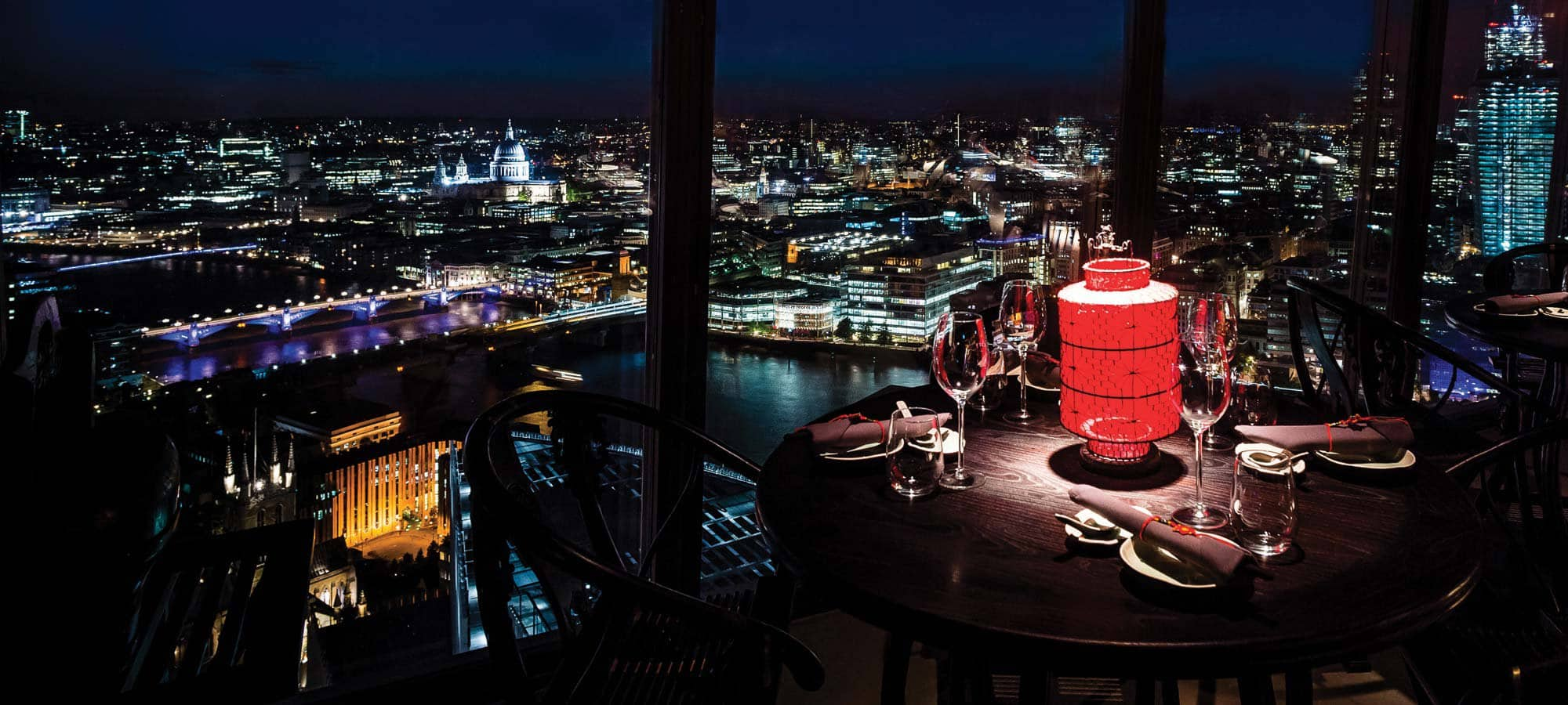 Hutong é um restaurante chinês localizado no The Shard