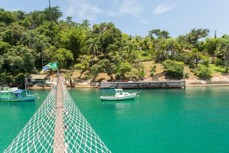 ilha dos cocos em paraty