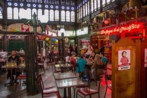 Mercado Central de Santiago tem restaurantes com pratos clássicos do Chile