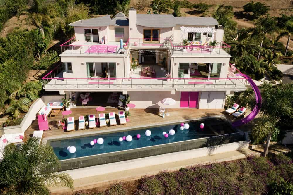 Que tal se hospedar na casa da Bárbie em Malibu?