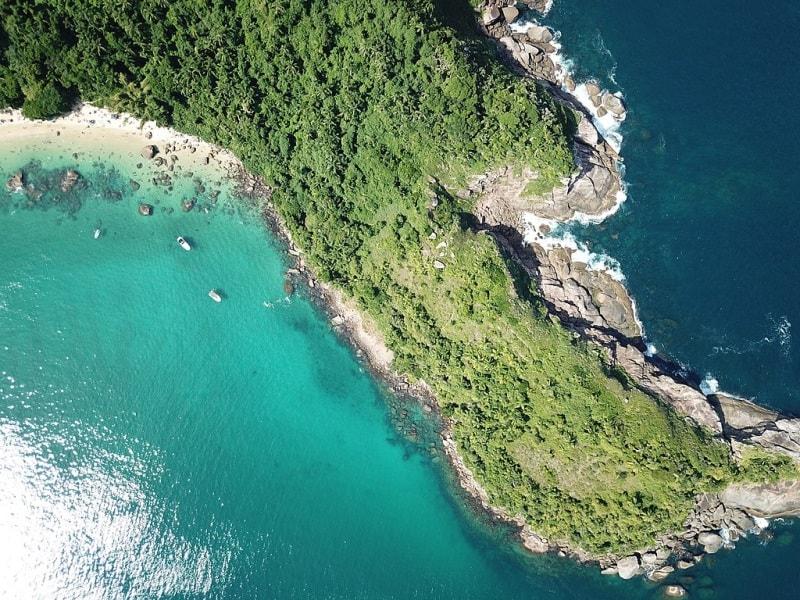 Ilha das Couves em Ubatuba é um paraíso no litoral paulista