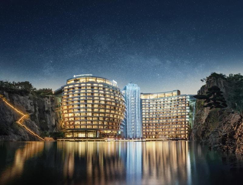 hotel de luxo em xangai